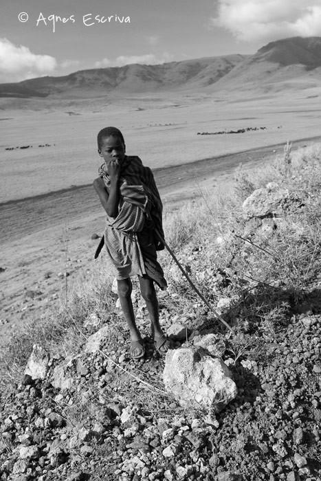 Un jeune masaï
