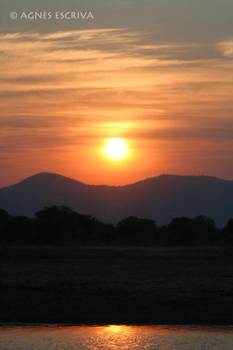 Levant sur la Luangwa