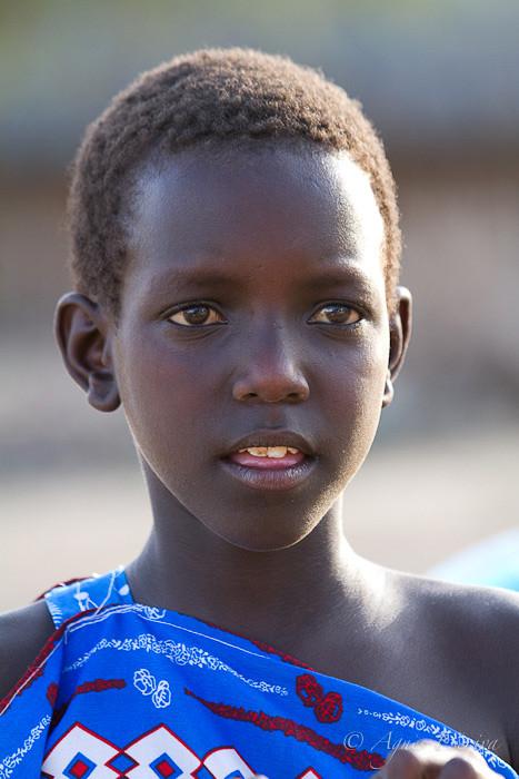 Petite fille masaï