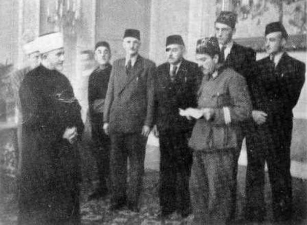 U razgovoru sa muslimanskim vodstvom u Sarajevu