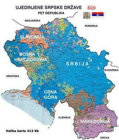 karta srbije sa granicama Intervju: Prof. dr. med. sci. HAMZA MUJAGIĆ:   HANDŽAR 13 DIVIZIJA  karta srbije sa granicama