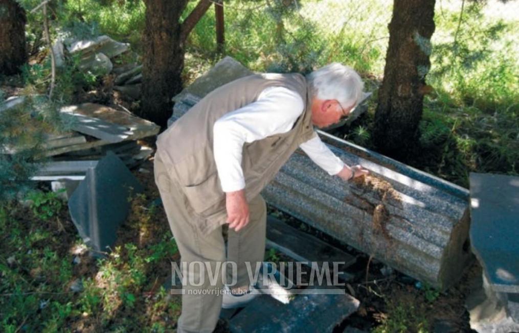 Dijelovi spomenika koji se nalaze u Trebinju