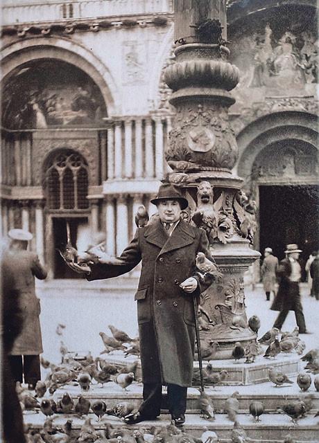 Djed Zlatka Hasanbegovića Sabrija, u Veneciji 1928.