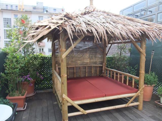 Bambus-Living 2014 Dachterrasse in Karlsruhe