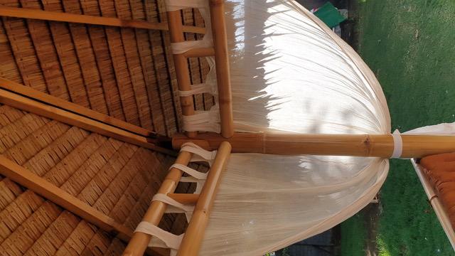 Bambus-Living 2019 Hersteller auf Bali mit Vorhänge