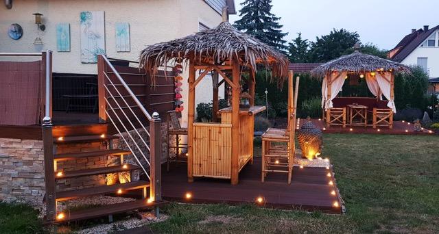 Bambus Living 2018 kleine Bar und Kombi-Sala Landshut (Nacht)