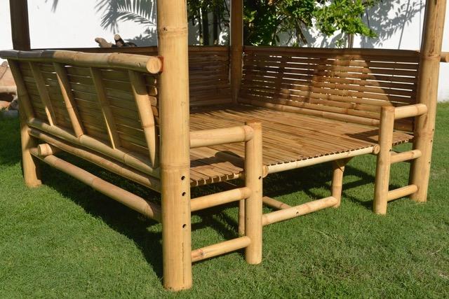 Bambus-Living 2019 Hersteller auf Bali