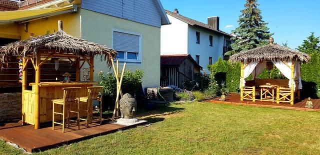 Bambus Living 2018 kleine Bar und Kombi-Sala Landshut (Tag)