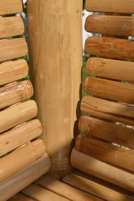Bambus-Living 2019 Bambus-Ecksäule mit Rückenlehne