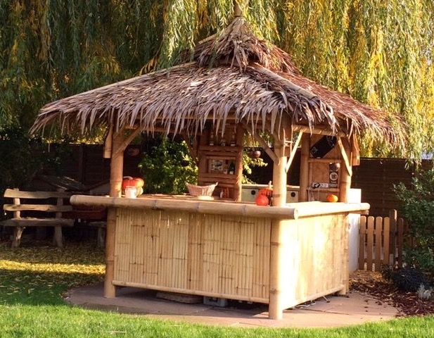 Bambus Living 2016 Bar 2 x 2 mtr. Grundfläche - Nähe Worms