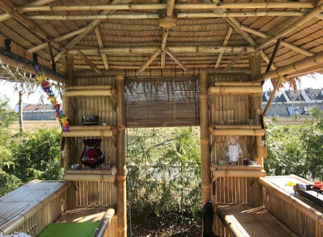 Bambus Living 2 x 2 mtr. Grundfläche