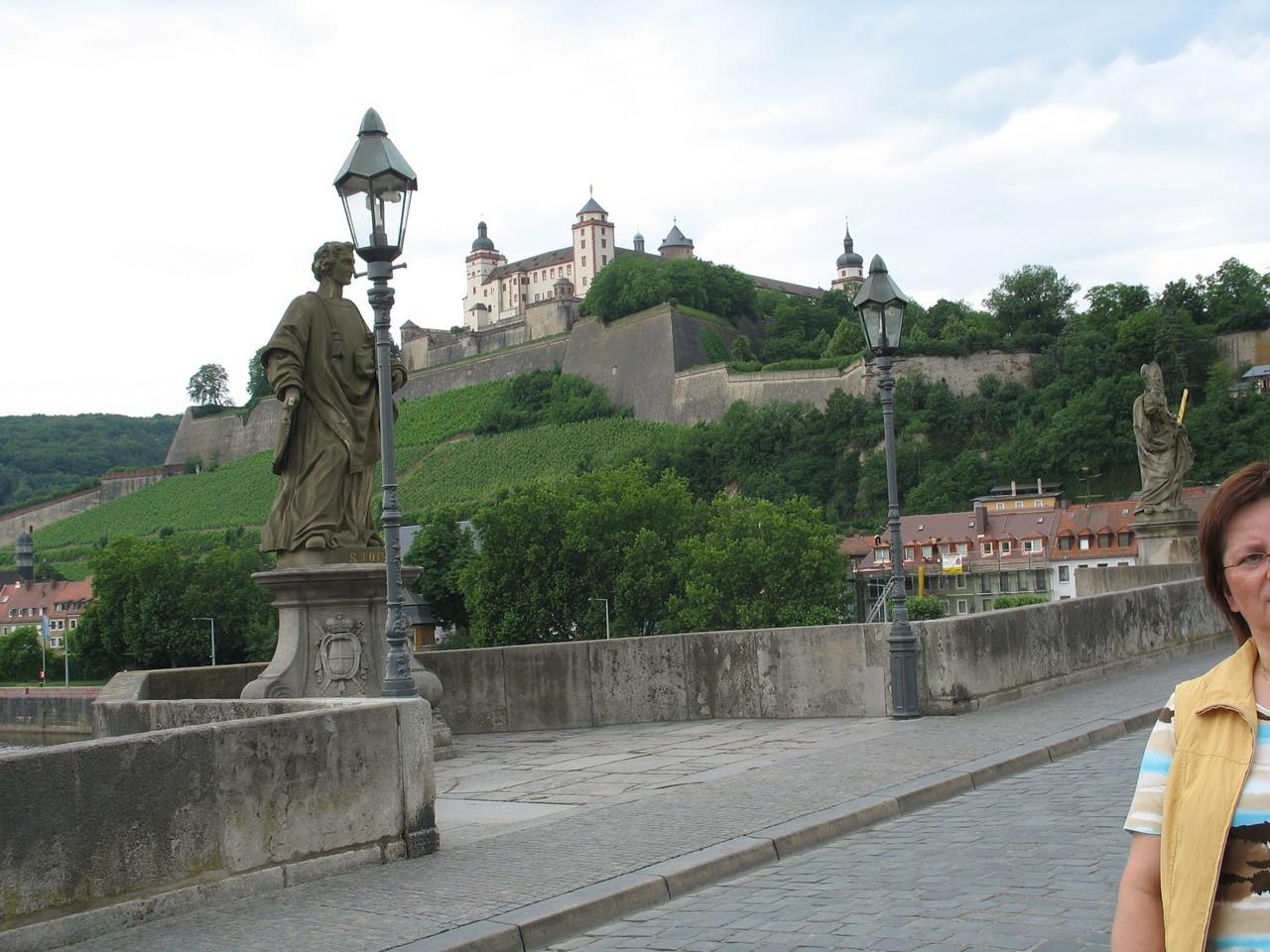 ヴュルツブルクの「マリエンベルク要塞」