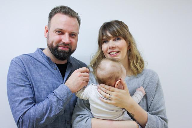Xandra & Lorenz und ihre kleine Tochter