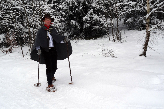 Historische Schneeschuhtour