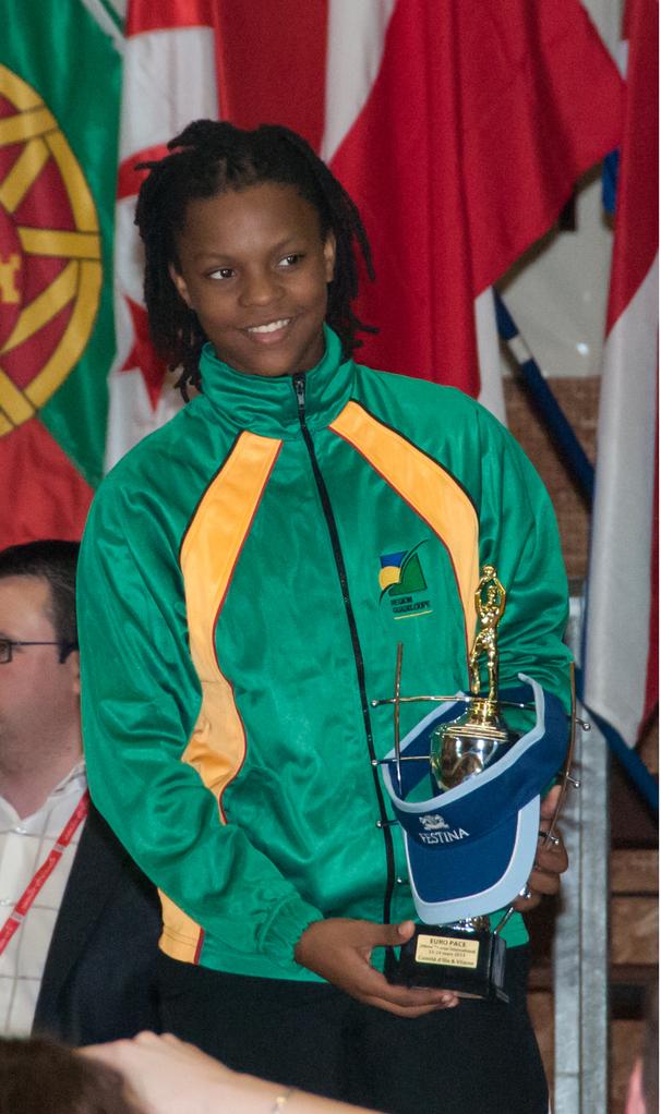 MVP 2013 : Océane Monpierre (Guadeloupe - France)