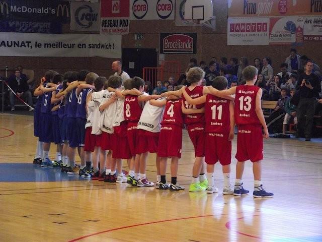 Pacé - Bamberg en demi finale 2012