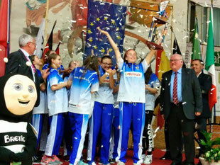 Championne 2016 : Plzen (République Tchèque)