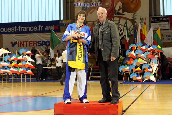MVP 2010 : Thomas Durand (Charenton - France)
