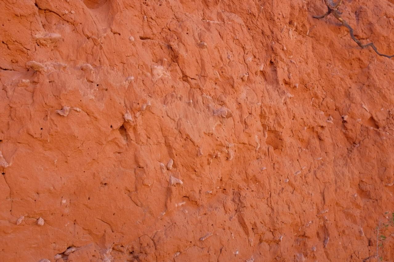 Tsondab Valley Canyon, 20 Mio. Jahre Sandstein mit Fossilien