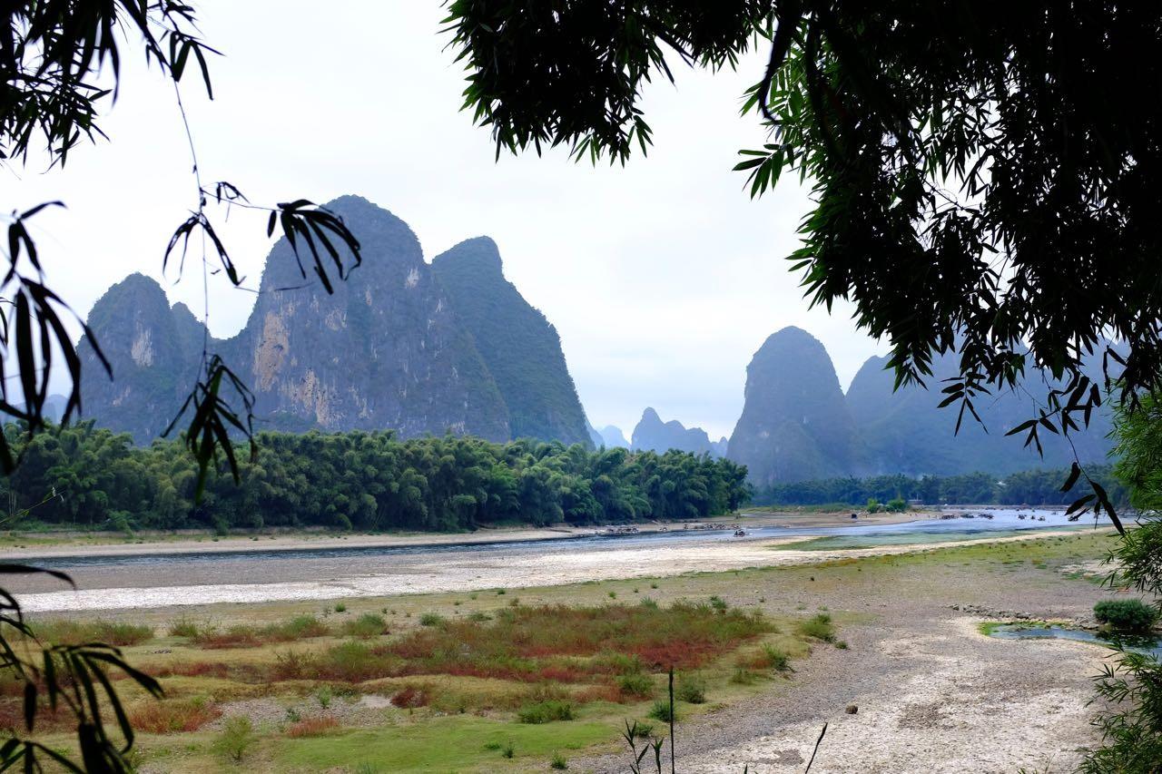 In Quanjiawan startet die Wanderung nach kurzer Bootsfahrt