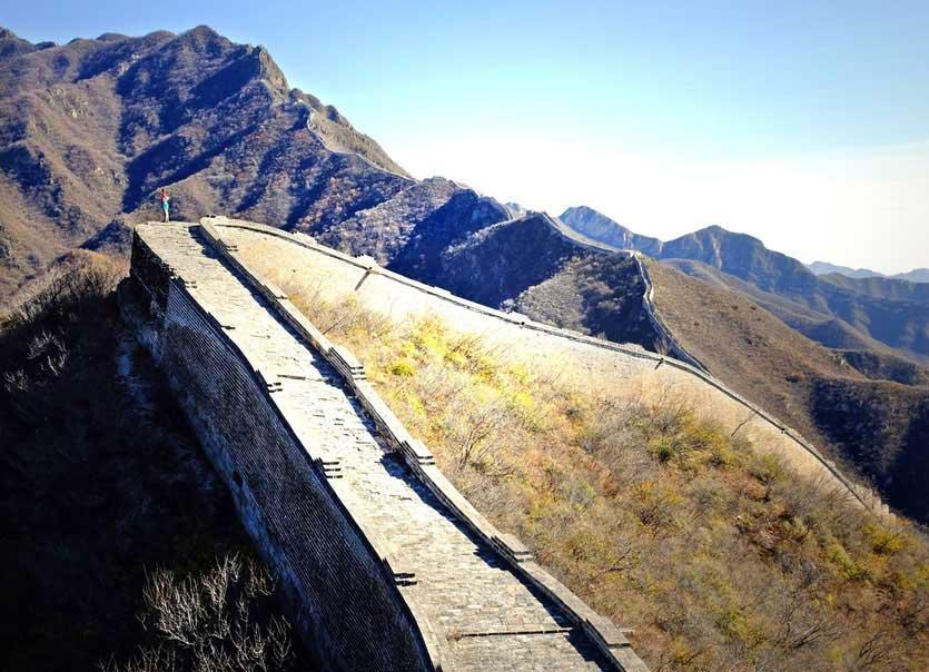 chinesische große mauer peking, great wall beijing