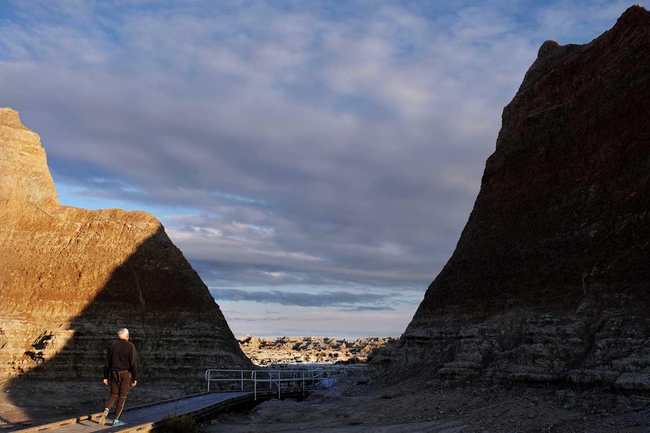 Badlands Door Trail kurz und spektakulär