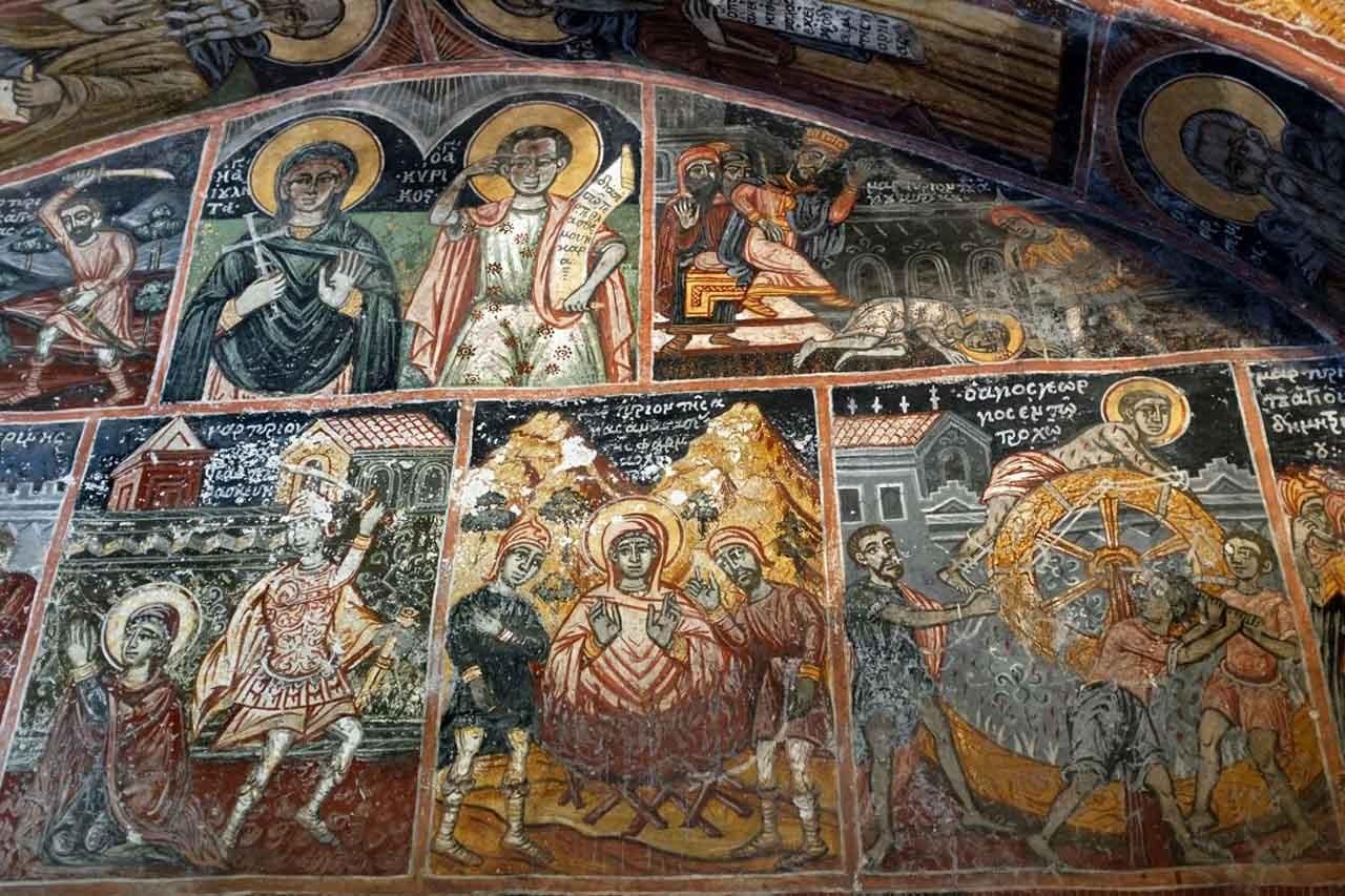 Dekoulou  Klosterkirche, Mani Peloponnes