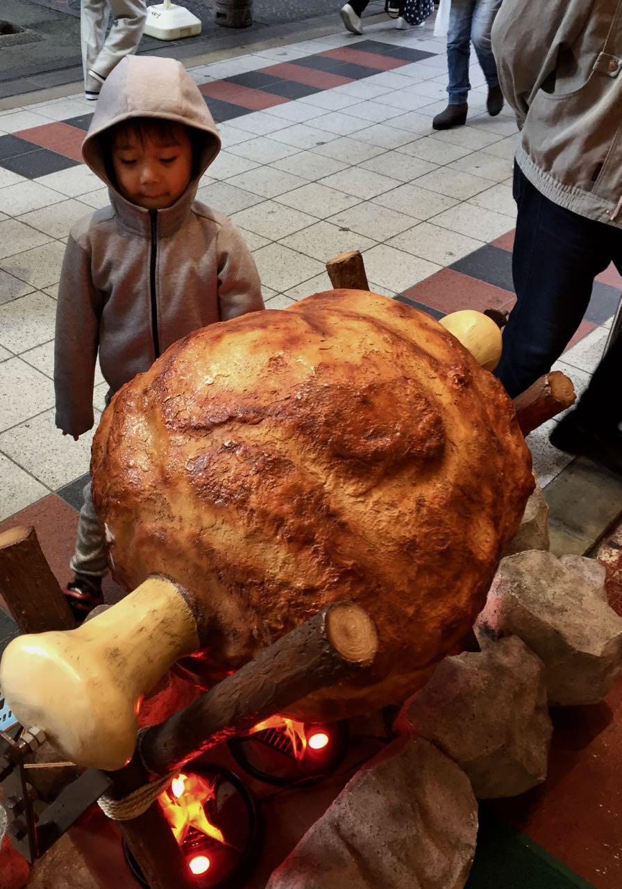 Schweinshaxe fürs Restaurant – Doguyasuji Kitchen Market Osaka