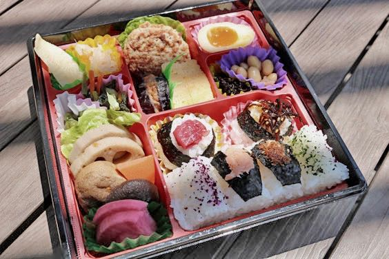 Das Auge ißt mit, Bento-Box von ISETAN Shinjuku Tokio