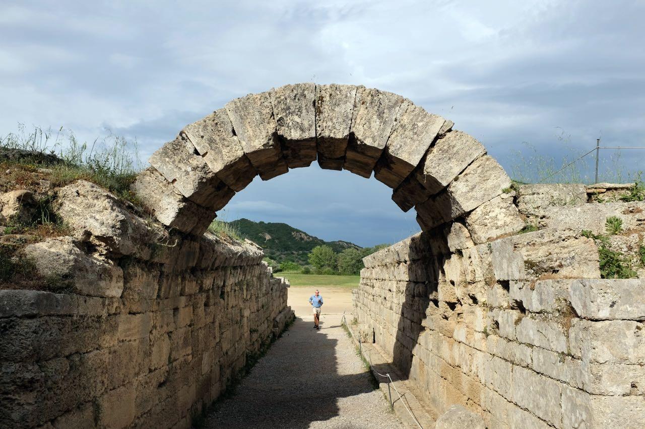 1000 Jahre Olympia, Peloponnes