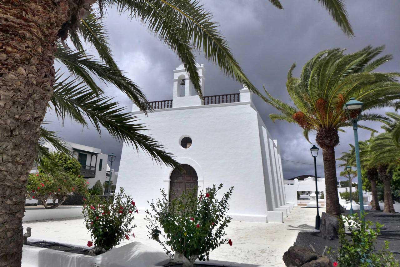 Uga besitzt eine der schönsten Kirchen Lanzarotes