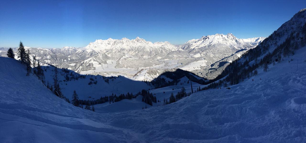 'Big White Bang' das größte Skigebiet Österreichs