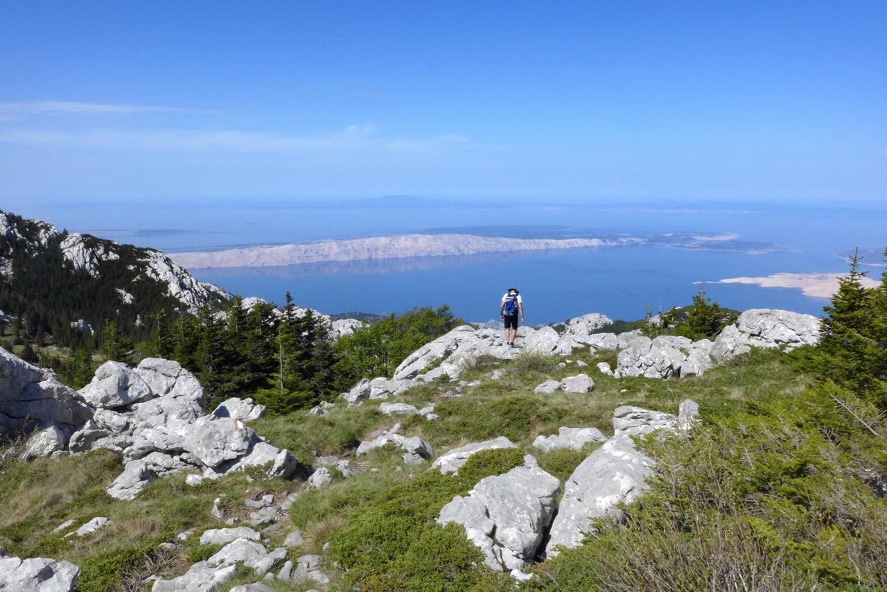 Wanderung im Nationalpark Nord-Velebit