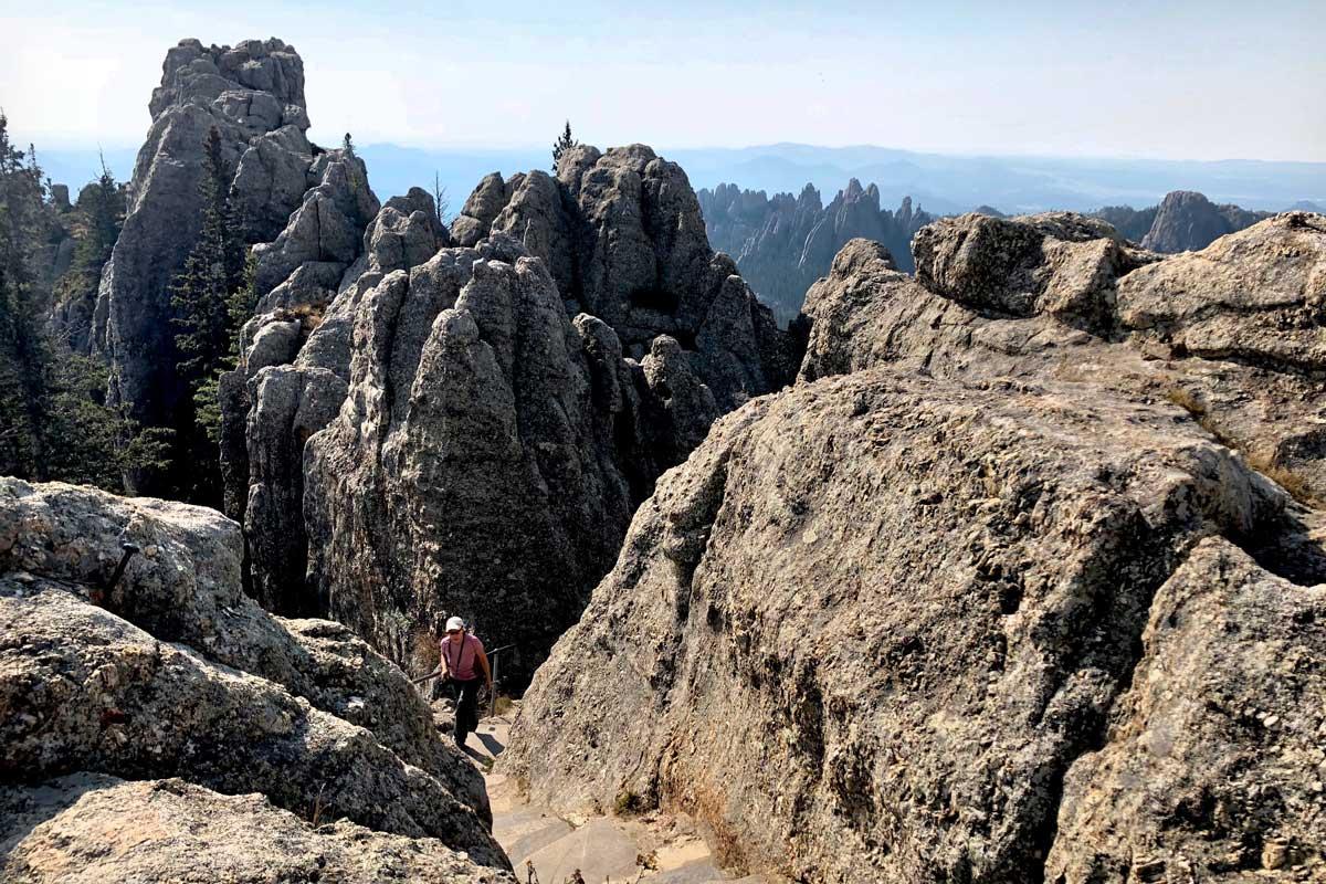 Black Elk Peak Wanderung