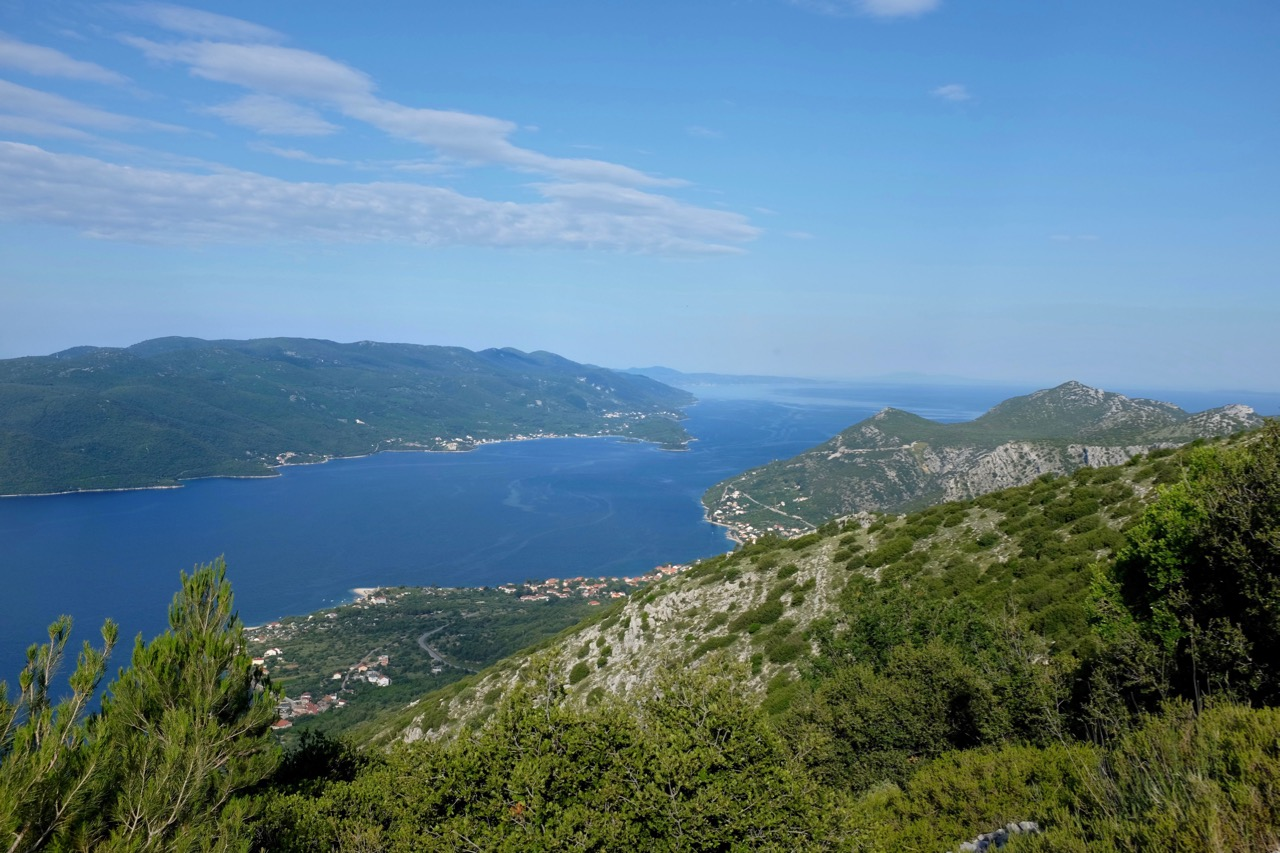 Wanderung Monte Vipera Peljesac