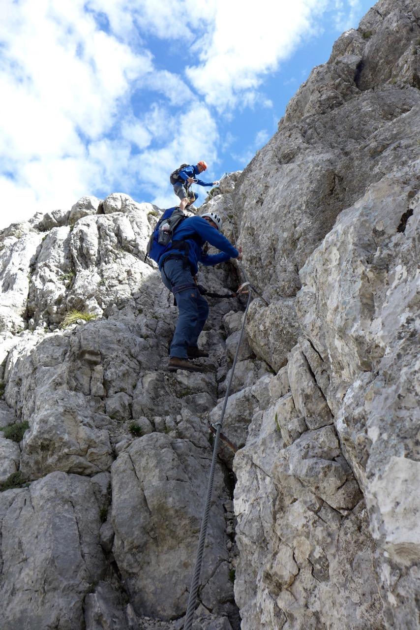 Klettersteig Furcia Rossa