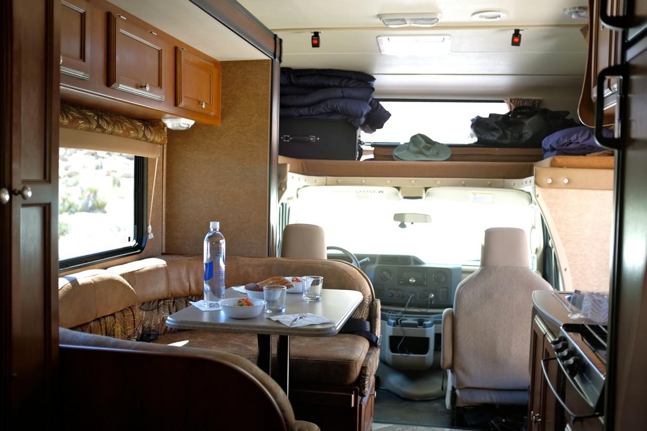 Innenausstattung, USA Wohnmobil Road Bear