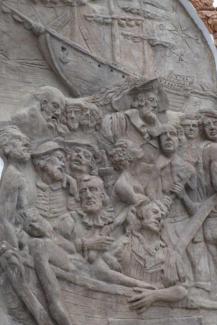 Magellan Denkmal Sanlúcar de Barrameda