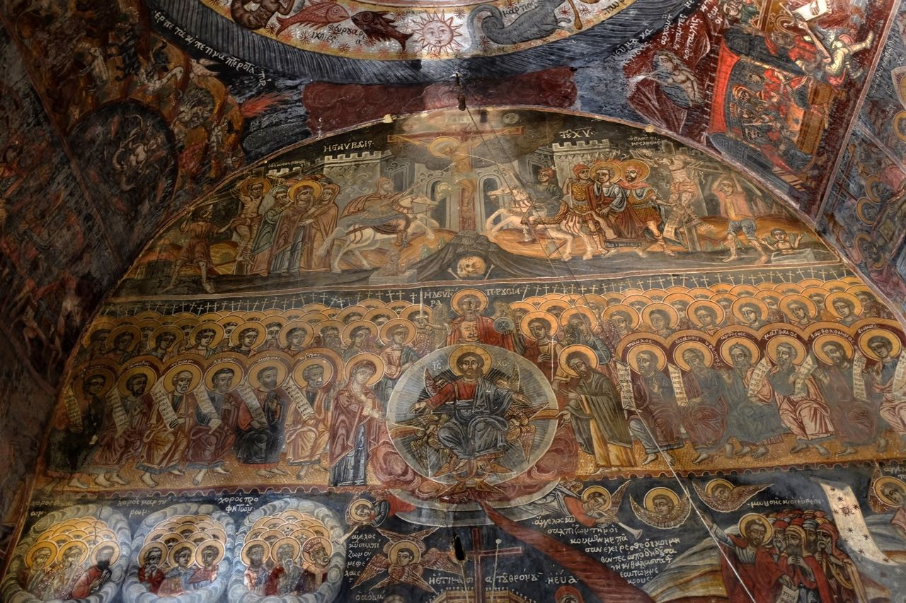 Dekoulou  Klosterkirche, Mani