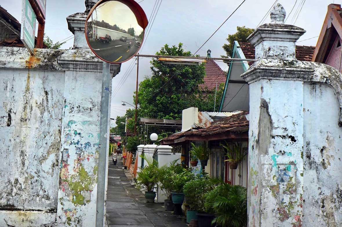 In der Altstadt von Yogyakarta, Java Indonesien