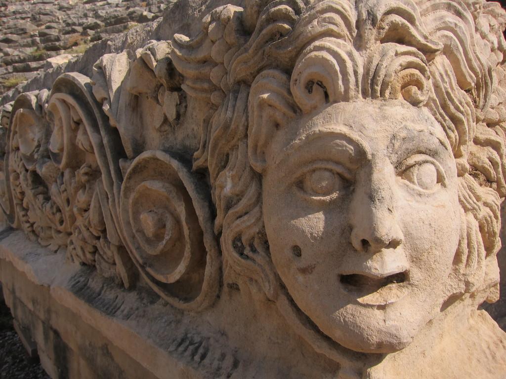 Antikes Myra Lykische Küste Türkei