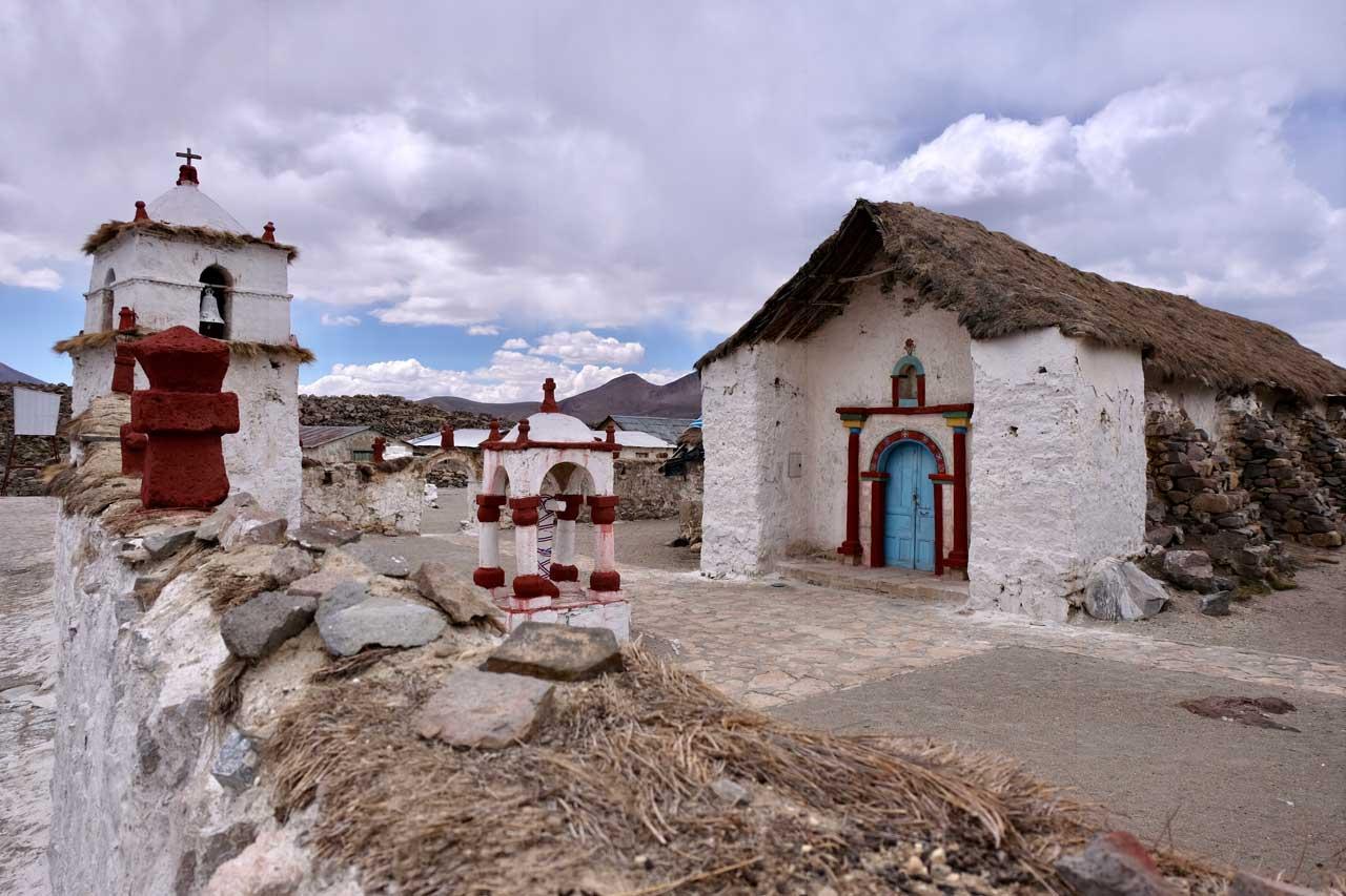 Altiplano-Kirche von Parinacota