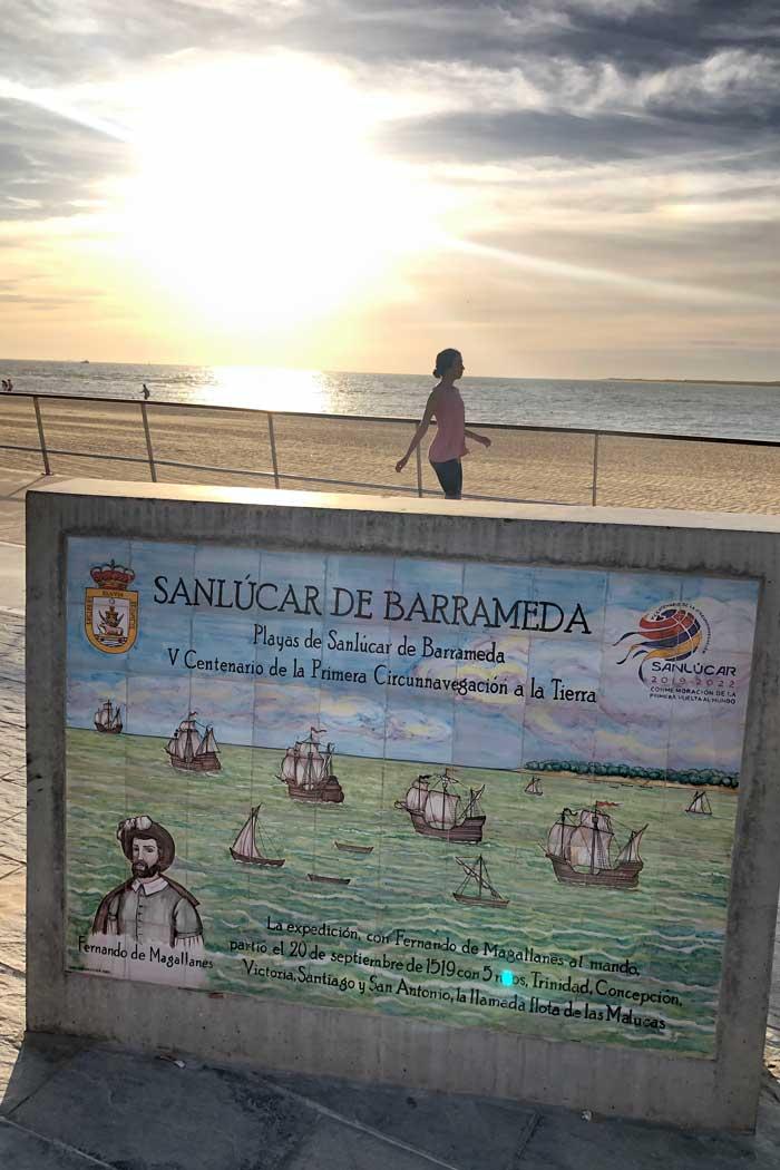Strand Sanlúcar de Barrameda