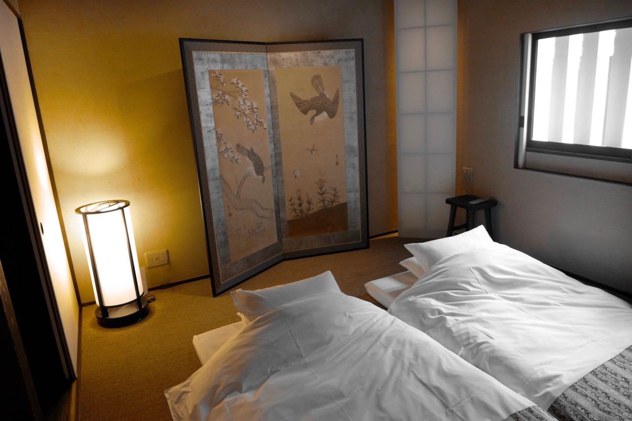 Das zweite Schlafzimmer im Izumiya-cho Machiya (Iori Machiya Kyoto)