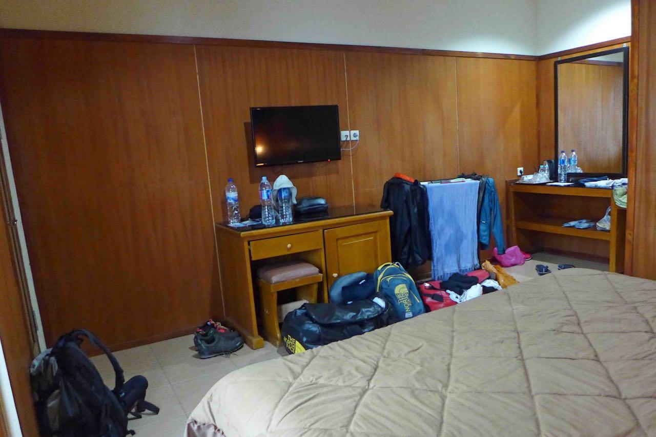 Superior Zimmer, Cafe Lava Hostel am Bromo