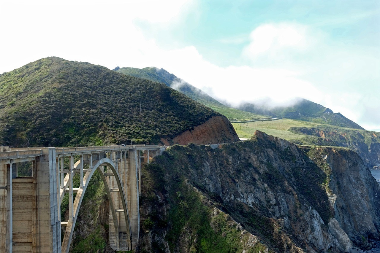 Bixby Bridge am Highway No 1