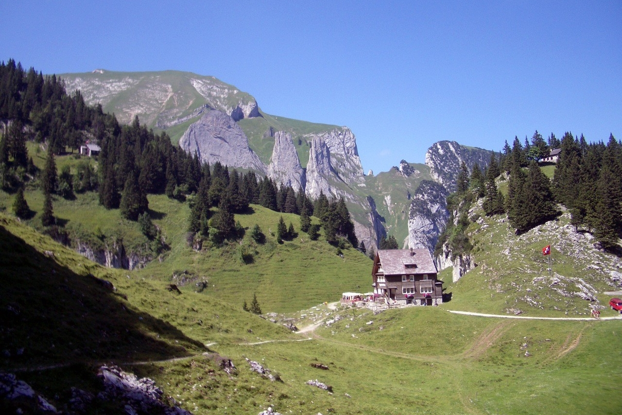 Berggasthaus Bollenwees, Appenzeller Alpen