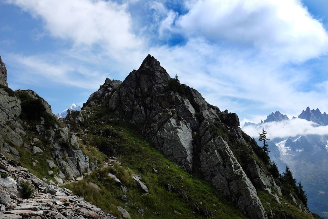 Wanderweg über den Col du Lac Cornu