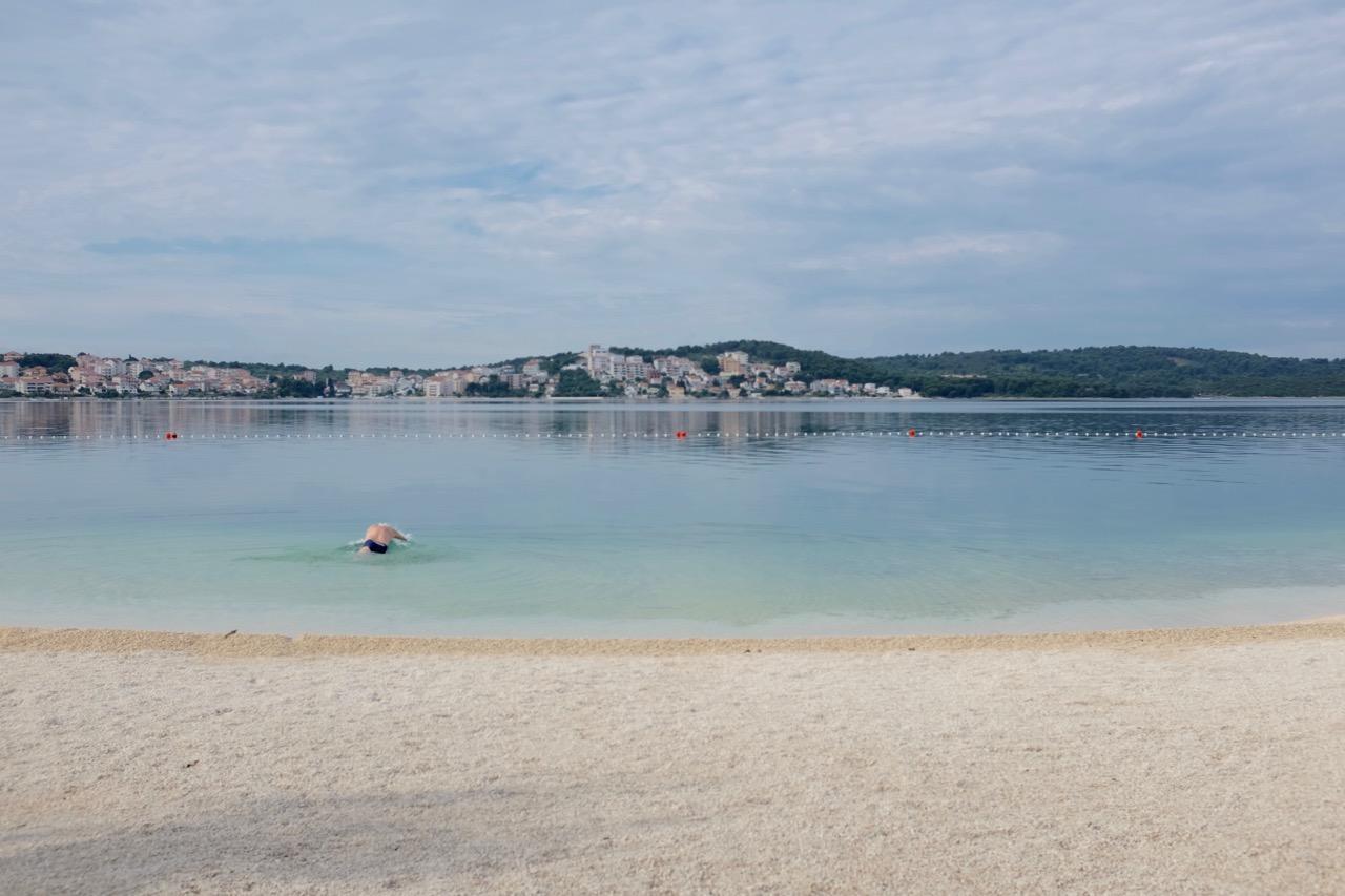 Camp Rožac, sehr einladend zum Schwimmen