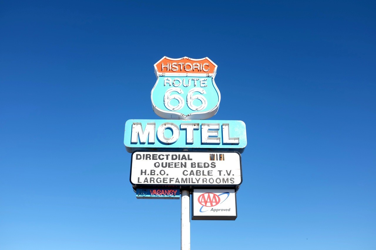 Seligman on Route 66 USA